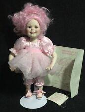 "Marie Osmond doll ""Crystalline"" Fairy Tot w/ Coa, Tag & Stand #282 Karen Scott"