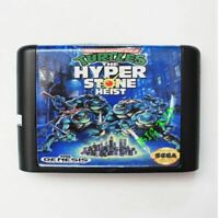 Turtles The Hyperstone Heist 16 bit SEGA MD Game Card For Sega Mega Drive