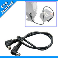 "12"" 12 inch Male to Male M-M FLASH PC Sync Cable Cord"