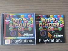 JEU PLAYSTATION PS1  BUST A MOVE 2 ARCADE EDITION   COMPLET EN FRANCAIS ,