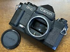 [EXC+++++] Canon New F-1 Eye Level Finder 35mm SLR Film Camera Body From JAPAN
