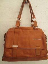 PIQUADRO sac cartable vintage en cuir bag à saisir - r6/7-20