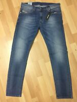 MEN Diesel THAVAR XP STRETCH DENIM R18D6 BLUE SKINNY Slim W32 L32 H6 RRP£170
