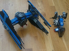 LEGO Star Wars Imperial Tie Interceptor 6206 and Imperial Drop Ship 7667