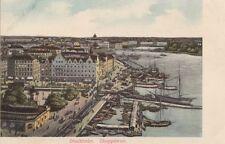 STOCKHOLM( Sweden) : Skeppsbron-undivided back