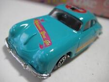 Edocar (Netherlands) Turquoise Porsche 356A Coupe (Coca-Cola) Diecast 75-mm NIB