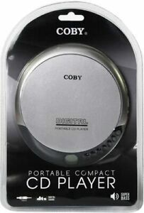 Coby Portable Compact CD Player (Silver)