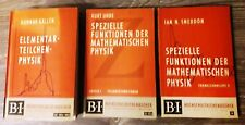 3 Bände aus 1963-65: Spezielle Funktionen der mathematischen Physik
