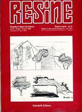 RESINE QUADERNI LIGURI DI CULTURA ANNO 1983 - N.16
