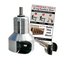 Beginner Kit Pro Series tenon cutters, Log Furniture, PSBK1, Lumberjack Tools