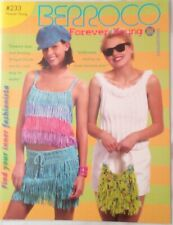 Berroco Forever Young Pattern Brochure 233 Booklet Knit Crochet 19 projects 2005