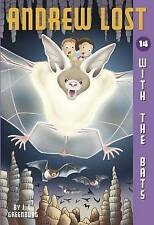 Andrew Lost #14: With the Bats (A Stepping Stone Book(TM))-ExLibrary