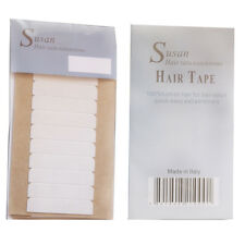 Hold 3 moths Susan top quality strong clear color hair  doubleside tape 60 TABS