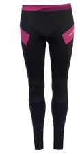 Muddyfox Pure Padded Cycle Tights Ladies Black Purple Uk Size 8