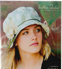 PATTERN - Boho Cloche Hat - chic sewing PATTERN - Heather Bailey