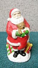 Santa with Bear night light of Lights in the Night by Cannon Falls made in China