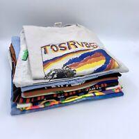 Vintage T-Shirt Wholesale Lot 10 Random Shirts Sizes S-XXL Vtg Single Stitch