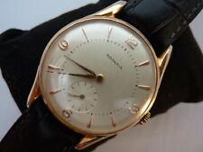 1950s Oversized Rodania Men's watch sub-second RARE