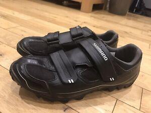 Shimano M 065 SPD MBT Gravel CX Cyclocross Cycling Shoes Size 11 / 46 Black