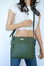 Kate Spade Rima Laurel Way Saffiano Leather ShoulderCrossbody Bag Ever Green