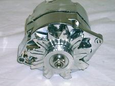 Chevrolet Chevy GM 100 Amp CHROME 1 or 3 Wire Alternator Street Rod or Custom