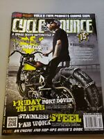 Cycle Source Magazine Back issue October 2012 The Horse Mag 13 Smokeout EUC