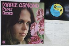 LP MARIE OSMOND Paper Roses SE4910 MGM JAPAN Vinyl PROMO