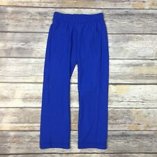 GK Boys Girls XXS Blue Gymnastics Pants Child CXXS
