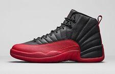 2016 Nike Air Jordan 12 XII Retro Flu Game Bred size 13. 130690-002 black red
