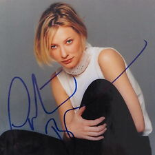 Cate Blanchette Original Autographed Color Publicity Photo, Sexy Blonde Actress
