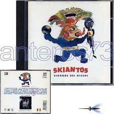 """SKIANTOS """"SIGNORE DEI DISCHI"""" RARO CD 1992 - FUORI CAT"""