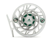 Hatch Gen 2 Finatic Fly Reel - Size 4 Plus - Clear/Green - Large Arbor - New