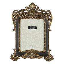 "Impressions Dark Brown Resin Deco Style Frame 6x8"""
