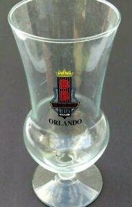 Vintage BB Kings Blues Club Orlando Tall Hurricane Glass NEVER USED