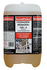 Fassadenreiniger GEL 5 Liter alkalisch gelförmig Fassaden Reinigungsmittel Ultra