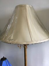 J ALEXANDER FASHION LAMP SHADE WITH BEADED TRIM NOS - NO HARP NEEDED