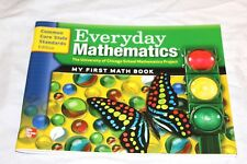 Everyday Mathematics grade K My First Math Student Book Kindergarten CC New