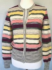 42 * 8 Missoni Strick Wolle Pullover Pulli Tunika Bluse Kleid Italy