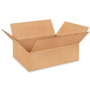 100 14x10x4 Cardboard Paper Boxes Mailing Packing Shipping Box Corrugated Carton