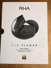 RHA CL2 Planar Headphones HiFi Magnetic Driver IEM with Bluetooth Wireless Neckb