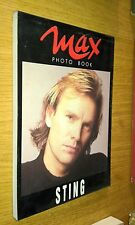 MAX PHOTO BOOK-STING-MARZO 1991-30 CARD BOOKLET - SR35