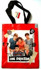 ONE DIRECTION TOTE BAG KIDS SHOPPING,RED TOTE BAG GIFT SCHOOL BAG NEW