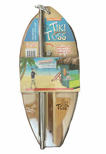 Tiki Toss Original Hook And Ring Game 100% Bamboo - Deluxe Edition NEW