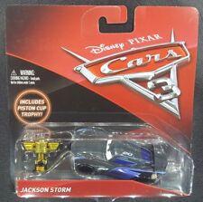 CARS 3 - JACKSON STORM racer IGNTR TEAM PISTON CUP TROPHY -  Mattel Disney Pixar
