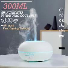 GX.Diffuser Essential Oil Aroma Diffuser Ultrasonic Humidifier Air Mist 300ML AU