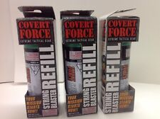 Lot Of 3 NEW Covert Force Extreme Tactical Gear String Blaster Refill Canisters