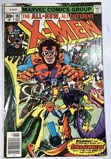 UNCANNY X-MEN #107 (OCT 1977) 1ST APP. of STARJAMMERS &  GLADIATOR KEY VF- (7.5)