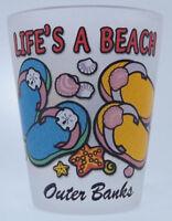 Souvenirs Shot Glass Life's a Beach Outer Banks Florida Shot Glass