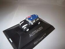 "Herpa  Mini  Cooper  S  ""Australien""  1:87  OVP !"