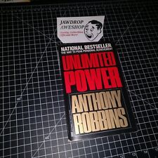 UNLIMITED POWER ANTHONY ROBBINS SELF HELP BOOK WAY TO PEAK PERSONAL ACHIEVEMENT